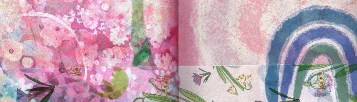 slider, Frühling in Rosétönen